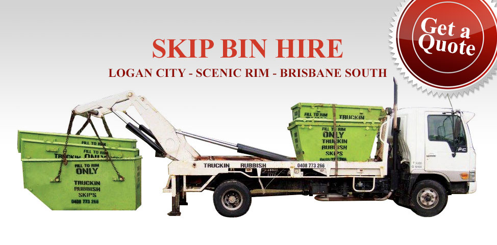 Rubbish removal bin hire